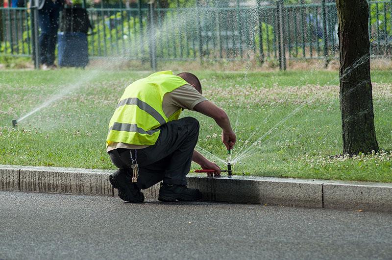sprinkler repair in san diego